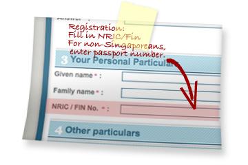 Registration as Omy.sg member